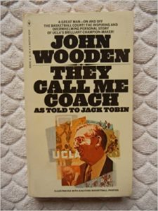 Greatest of all time basketball coach John Wooden